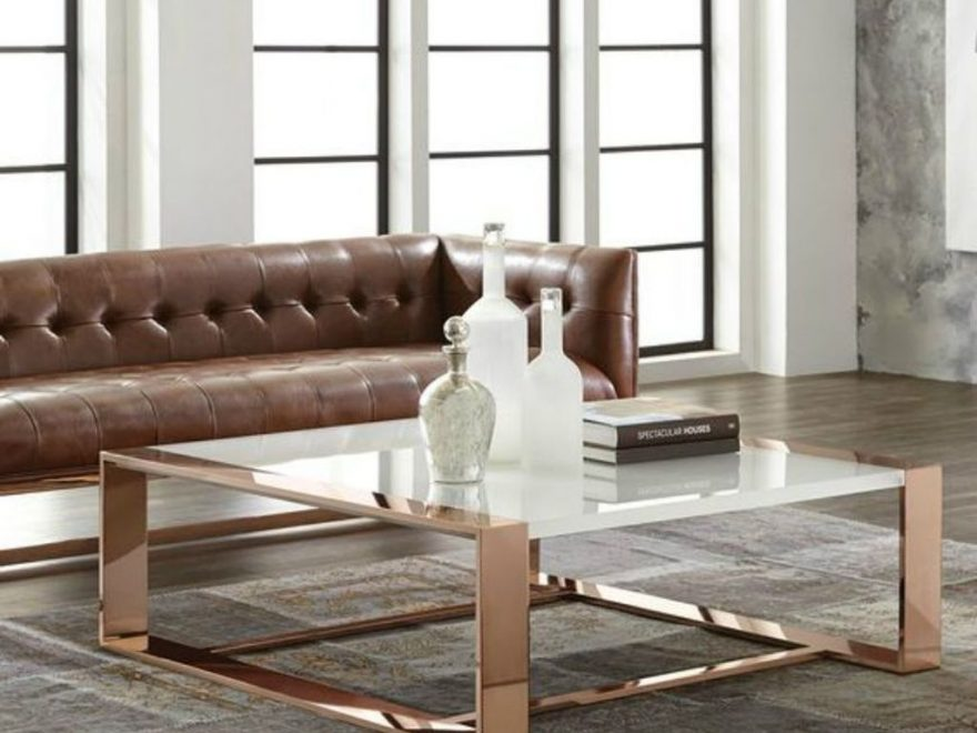 Awesome Glass Coffee Tables Ideas For Small Living Room Design34