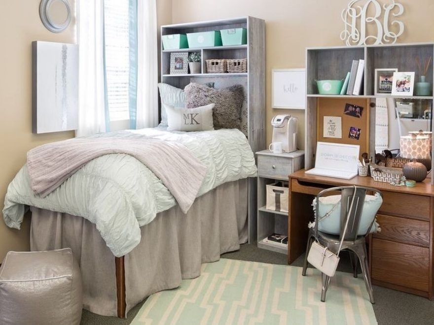 Efficient Dorm Room Organization Ideas That Inspire22