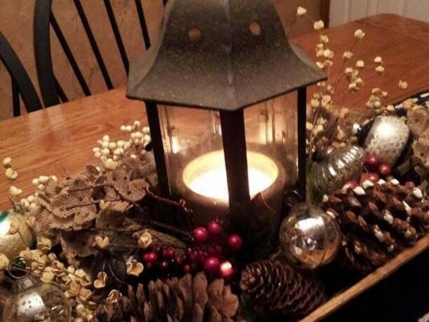 Cute Vintage Winter Table Decoration Ideas32