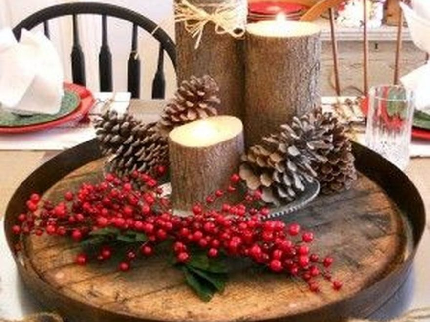 Inexpensive Diy Outdoor Winter Table Decoration Ideas45