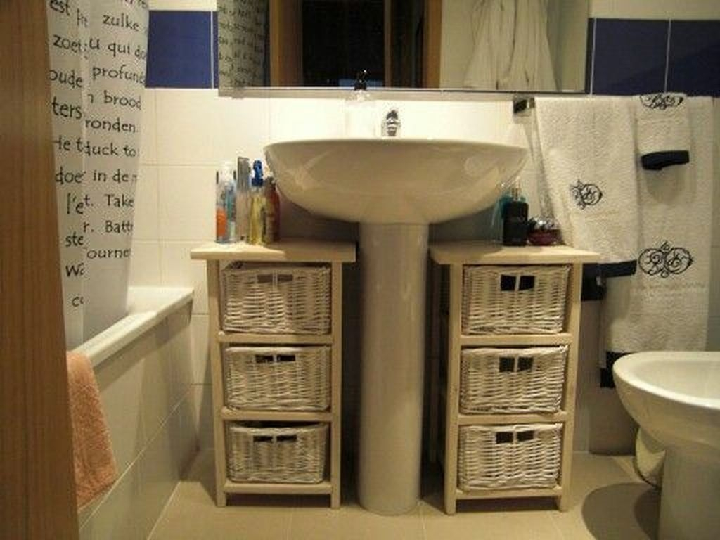 Charming Bathroom Storage Ideas41