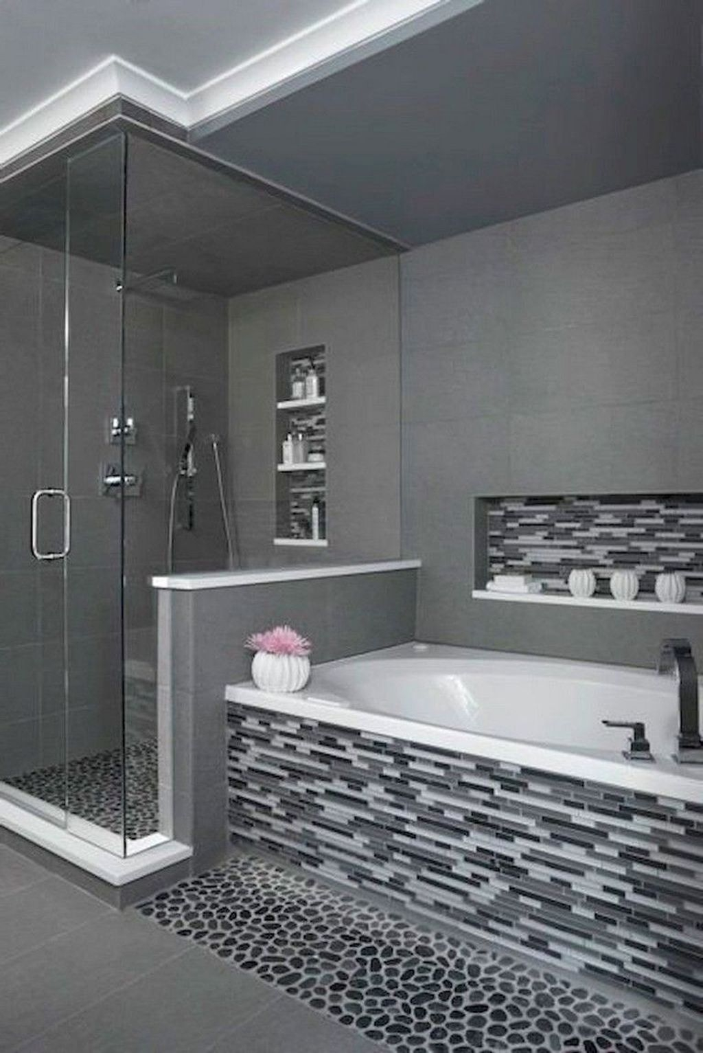 Latest Bathroom Decor Ideas That Match With Your Home Design37